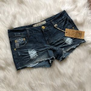 NWT Freestyle Revolution Sequin Shorts